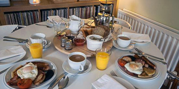 Included in your B&B stay - a full Irish breakfast
