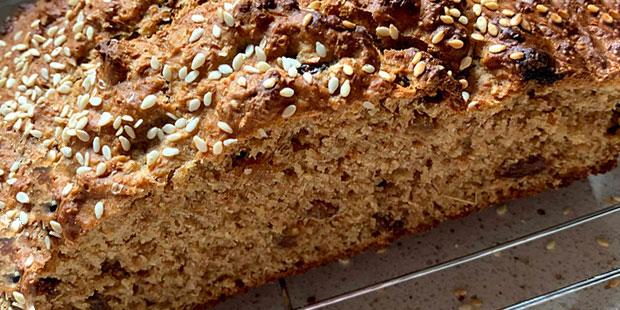 Irish Brown Treacle Bread Recipe