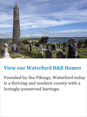 View our  Waterford B&Bs on Ireland's Ancient East