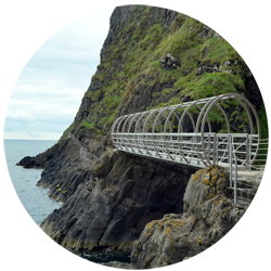 Le Gobbins Cliff Path