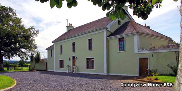 B&B of the Year Springview House B&B, Kilkenny
