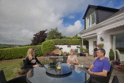 You'll enjoy peace and tranquility in an Irish b&b in Ireland