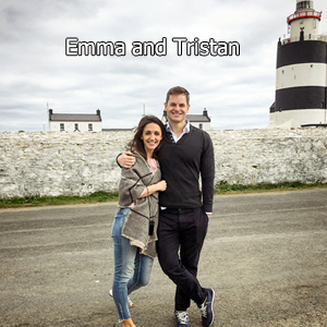 Emma and Tristan, B&B hosts of Hook Lodge, Wexford