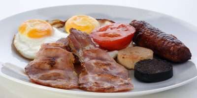 Start your day right with a full Irish breakfast