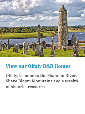 View our Offaly B&Bs on Ireland's Ancient Eas