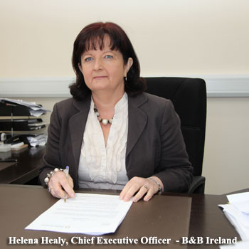 Helena Healy - CEO of B&B Ireland