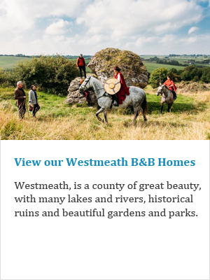 View our Westmeath B&Bs on Ireland's Ancient Eas