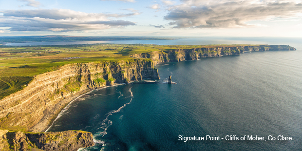 Cliffs of Moher, Clare along Ireland's Wild Atlantic Way