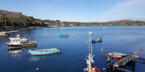 Scull Harbour in County Cork