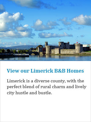 View our Limerick B&Bs on Ireland's Ancient Eas