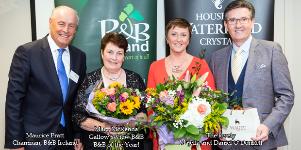 Gallow's View B&B Ireland of the Year Winner