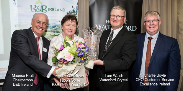B&B Ireland's B&B of the Year 2019 Agnes O'Sullivan, Taobh Coille, Kerry