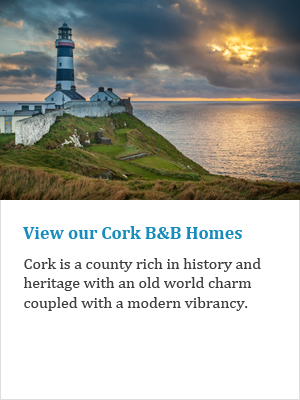 View our Cork B&Bs on Ireland's Ancient East