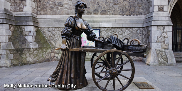 Molly Malone statue, Dublin City