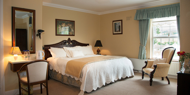 Double - A room with one double bed, suitable for two occupants